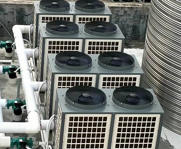深圳维也纳酒店—80T空气能热水工程