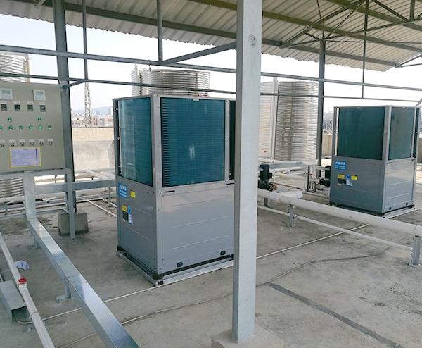 20T空气能热水工程—东莞金龙机电集团