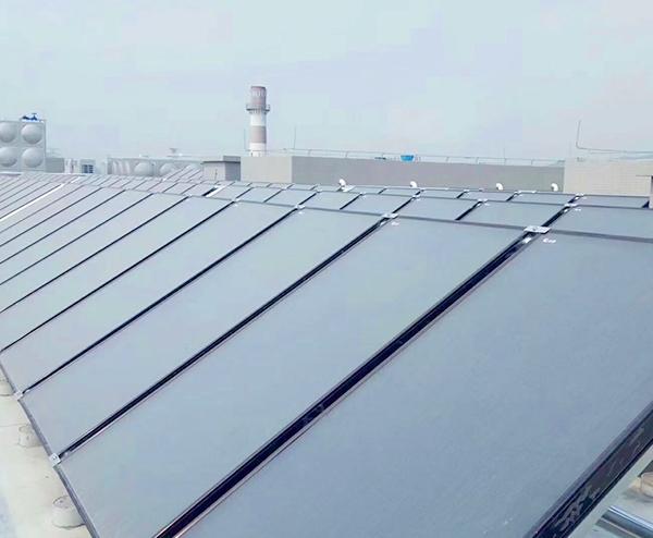 厚街某电子厂—10T太阳能+空气能热水工程