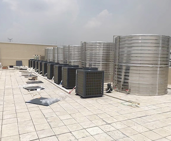 东莞市好景塑胶制品有限公司—50T空气能热水工程