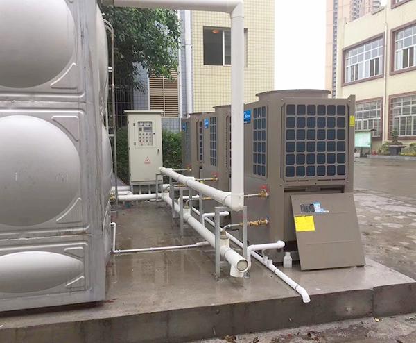 广东信息工程学院—30T空气能热水工程