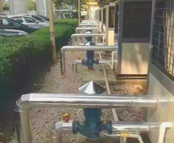 空气能+太阳能热水工程