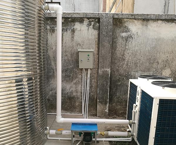 中建二局华南公司广州项目部—10T空气能热水工程