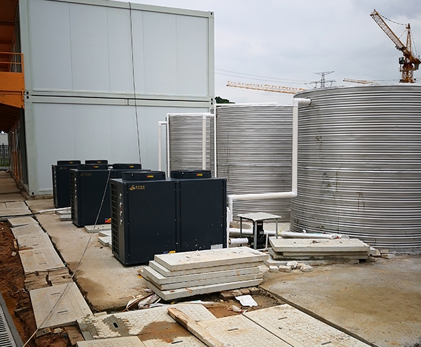 中建二局特检项目部—30T空气能热水工程