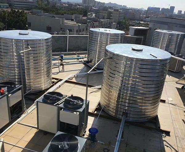 50T空气能热水工程