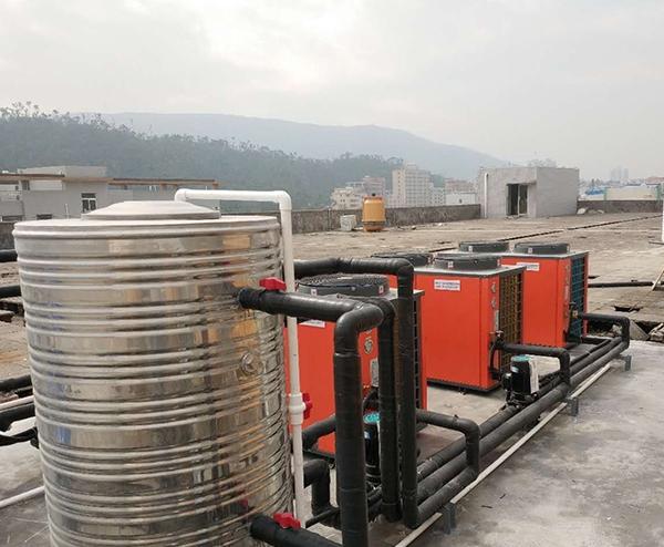 沥西电渡厂—空气能电渡槽恒温热水工程