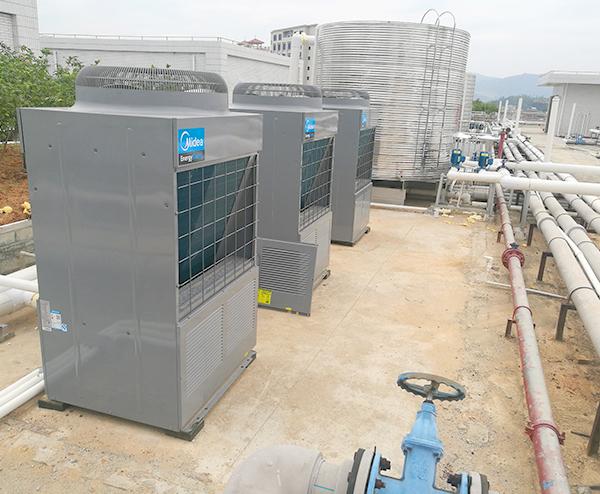 惠州市丰采电子精密有限公司—50T空气能热水工程