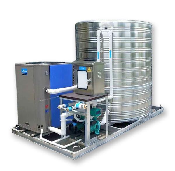 美的空气能热泵一体机